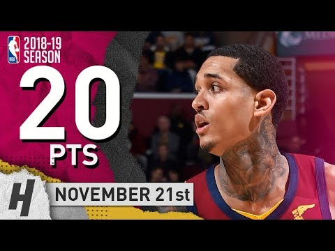 Jordan Clarkson Game Highlights vs. Lakers