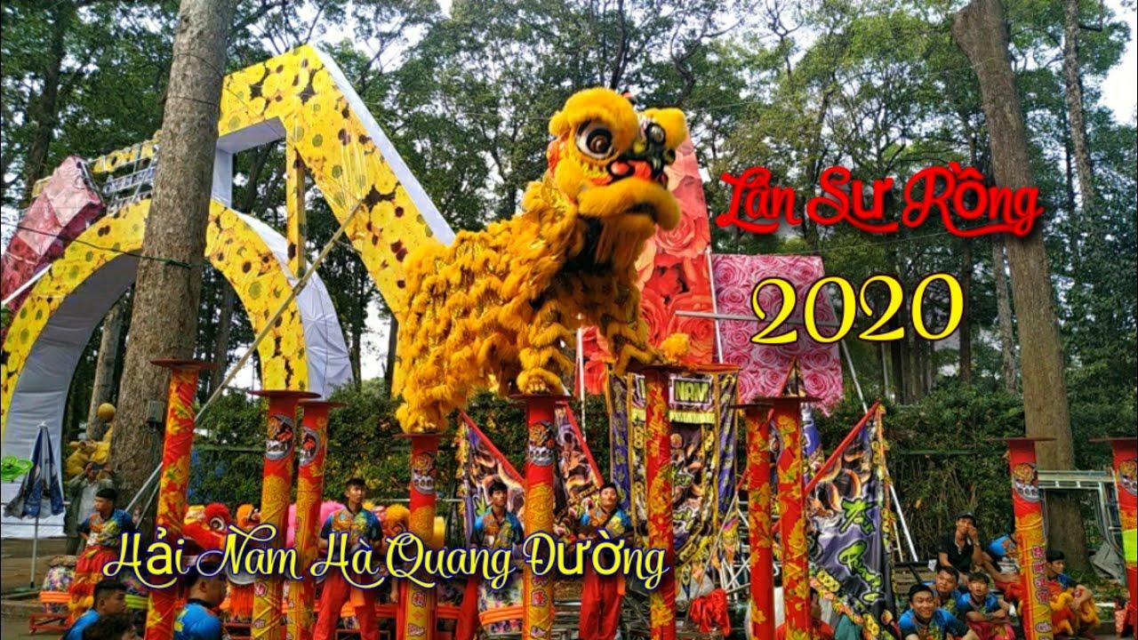 NÁO ĐỘNG CÔNG VIÊN TAO ĐÀN QUẬN 1 | MÚA LÂN SƯ RỒNG - HỘI HOA XUÂN 2020 HỒ CHÍ MINH | QUANG GEO
