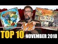 Top 10 hottest board games: November 2018