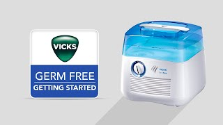 Vicks Germ Free Cool Mist Humidifier V3900 - Getting Started