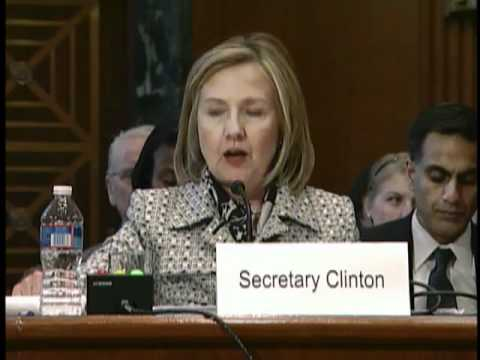 Secretary Clinton Testifies Before Senate Appropriations Committee