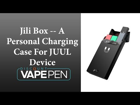 Jili Box -- A Personal Charging Case For JUUL Device