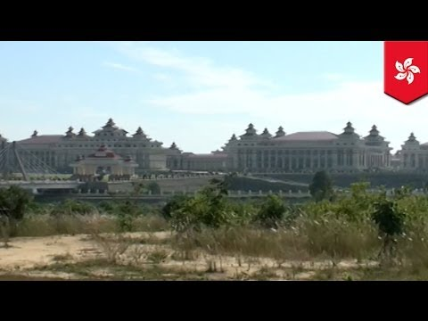 Burmese government reveals its haunted new capital Naypyidaw