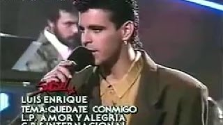 "LUIS ENRIQUE: ""Tu No Le Amas, Le Temes"" Version Original En Vivo ""SALSA"""