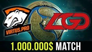 VP vs LGD - Fastest Match of Main Event TI7 - 1.000.000$ Match Decider - Dota 2 TI7