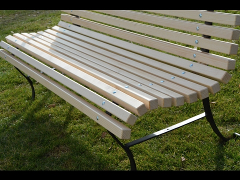 Old To Modern Park Bench You
