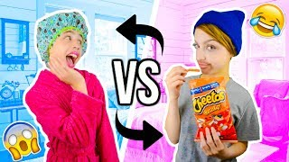 Brother & Sister Swap Morning Routines!