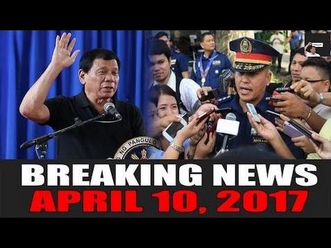 BREAKING NEWS TODAY! APRIL 10, 2017 | DUTERTE | GEN. BATO DELA ROSA | PNOY | LP - Philippines News