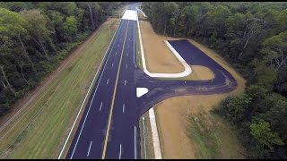 Old Madison Pike Road Construction Overflight: 25 September 15
