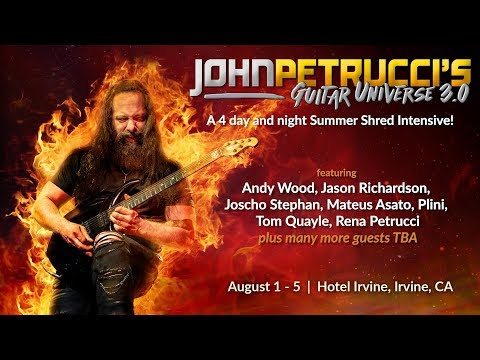 John Petrucci announces details of his Guitar Universe 3.0 summer camp | MusicRadar