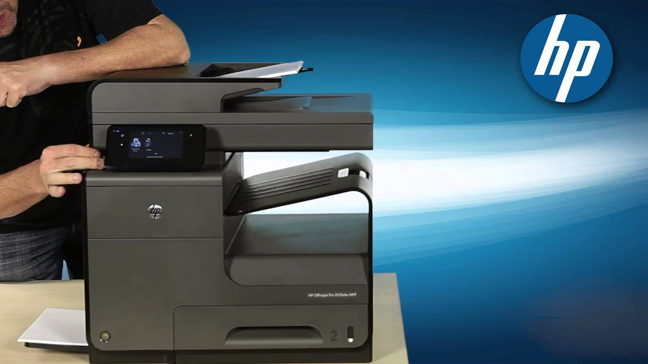 Hp Officejet Pro X576dw Youtube