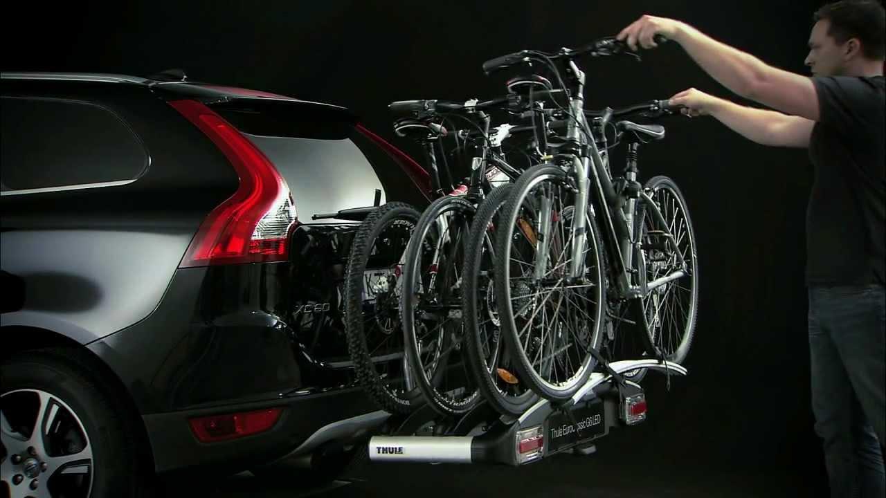 thule 928 929 euroclassic g6 fahrradtr ger youtube. Black Bedroom Furniture Sets. Home Design Ideas