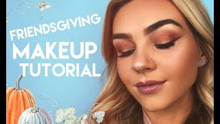 Friendsgiving makeup tutorial with Lex