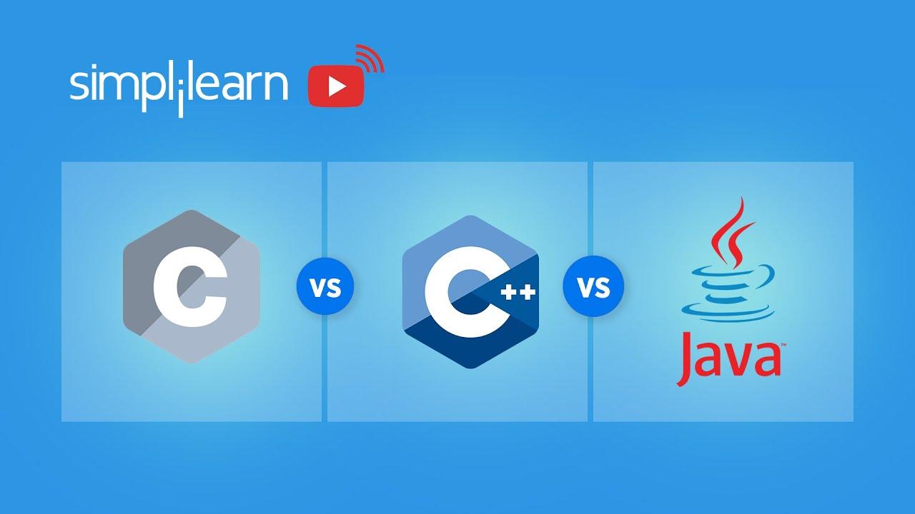 C vs C++ vs Java   Difference Between C, C++ & Java