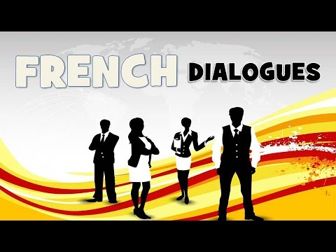 Learn French with 60 dialogues – French4you net
