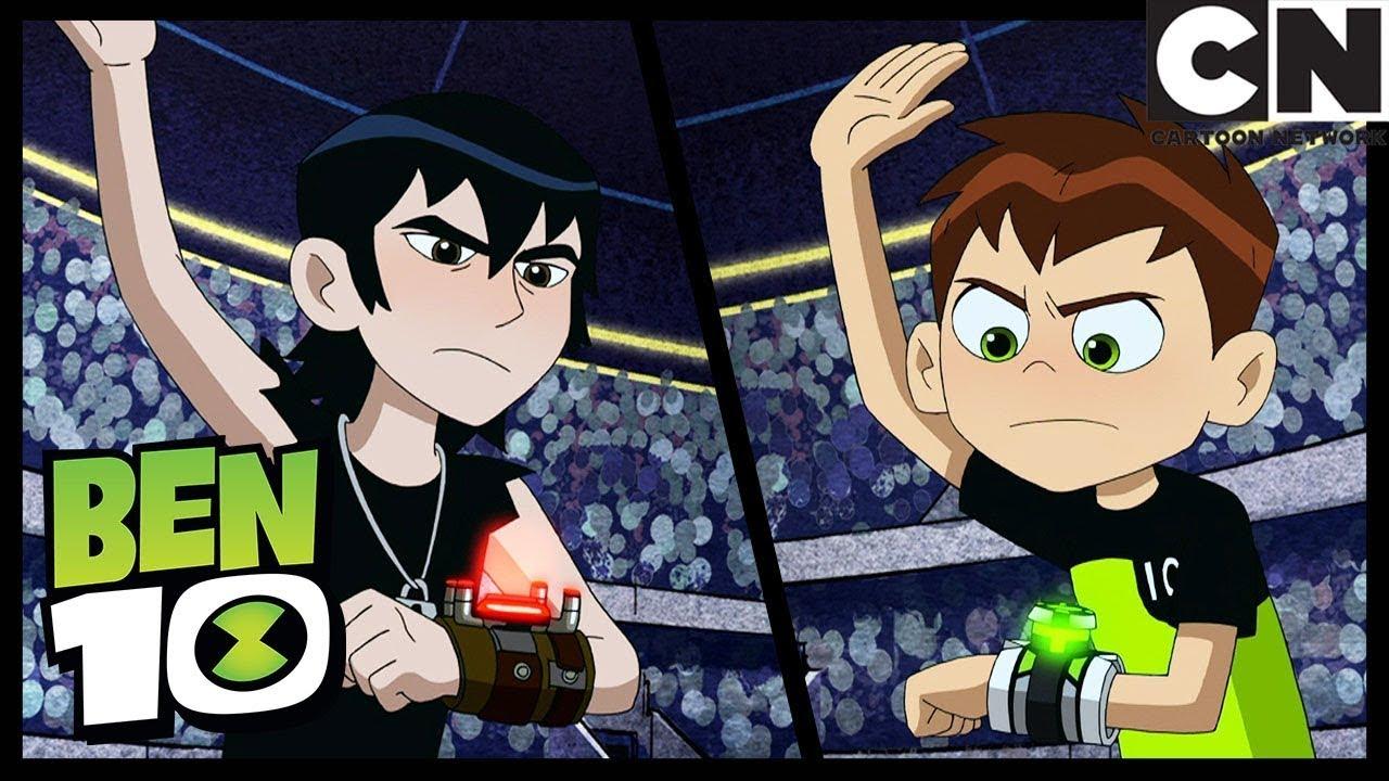 Forever Knight Battles Kevin!   The Bentathlon   Ben 10   Cartoon Network