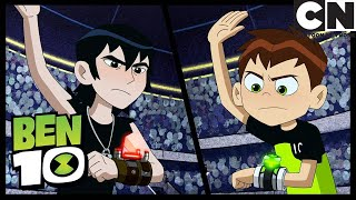 Forever Knight Battles Kevin  The Bentathlon  Ben 10  Cartoon Network