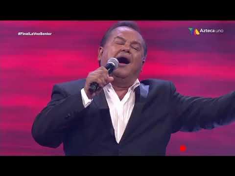 FINAL DE LA VOZ SENIOR 2019 / SALVADOR RIVERA (GANADOR ) / EQUIPO MONTANER