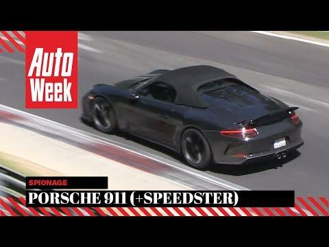 Porsche 911 Speedster -  Spionage