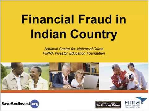 Financial Fraud in Indian Country