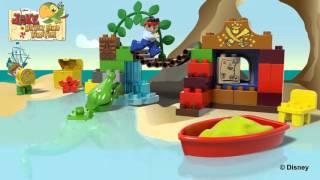 Видео обзоры LEGO Duplo Питер Пэн в гостях у Джейка