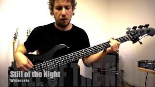 Whitesnake -Still of the Night  -bass playthrough