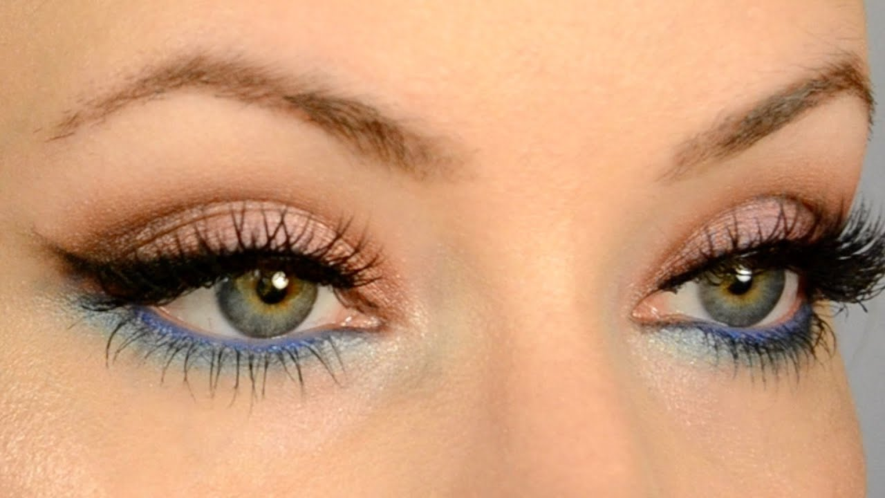 Make Your Eye Color Pop For Gold And Blue Eyes Makeup