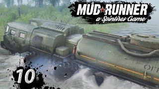 Spintires MudRunner | strategische ROUTENPLANUNG ► #10 Off-Road Simulator deutsch german