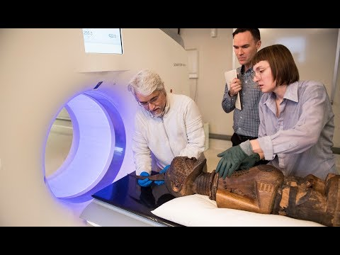 Using CT scans to study African power objects on YouTube