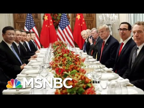 Stock Market Drops After Chinese Tech Executive Detained For US Extradition | Hallie Jackson | MSNBC