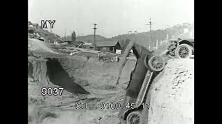 Stock Footage - Vintage Silent Slapstick - Car Crashes and Runaway Cars