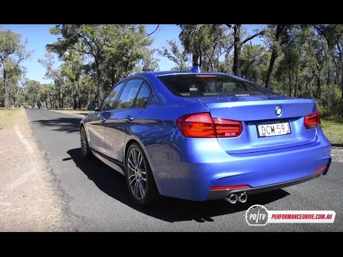 2016 bmw 320i m sport 0 100km h engine sound youtube. Black Bedroom Furniture Sets. Home Design Ideas
