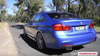 2016 BMW 320i M Sport 0-100km/h & engine sound