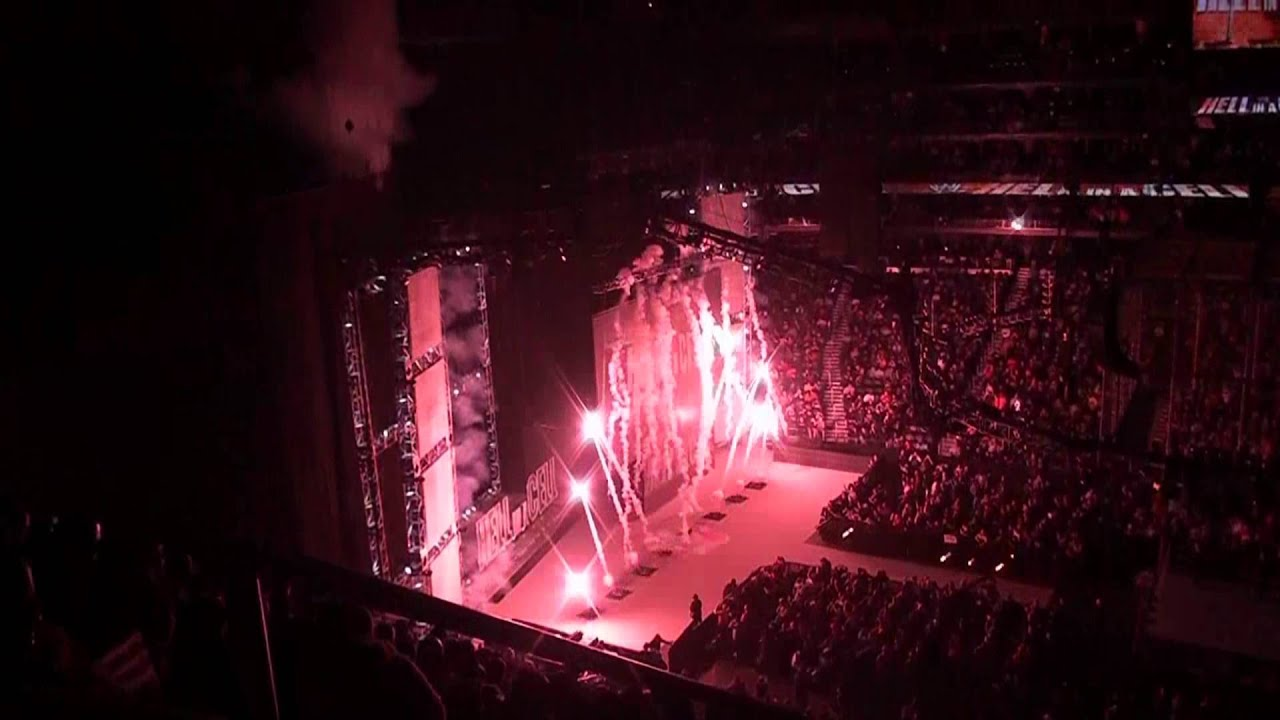 WWE Hell In A Cell 2012 Pyro Intro - YouTube