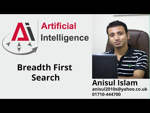 Artificial Intelligence English Tutorial 1 : Breadth First Search