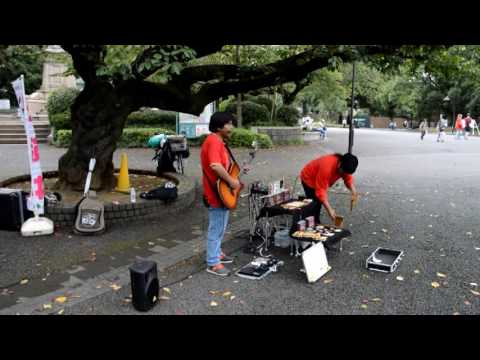 Best Peruvian Music Group In Ueno Park Tokyo (Japan)