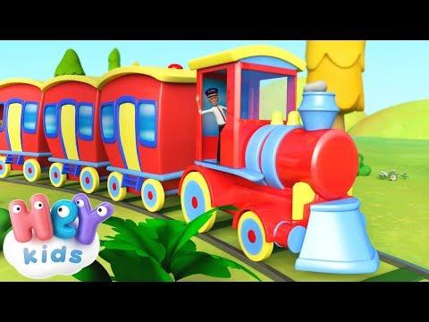 Cantec nou: Le Petit Train chanson et plus de comptines pour bb | HeyKids