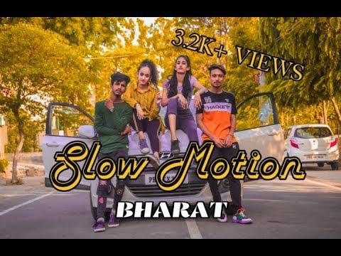 BHARAT: Slow Motion Song । Salman Khan, Disha Patani । Vishal & Shekhar feat, Nakash A, Shreya G ।।
