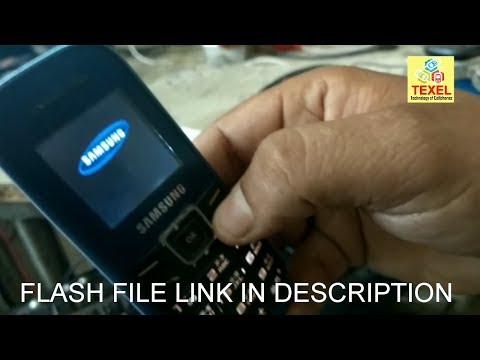 Samsung E1200T Flashing Done With UFS-3 By TEXEL NEW STUDENT (PRAKASH PANDEY)
