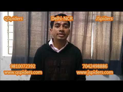 Inahoto Aye @QSpiders @JSpiders Delhi NCR