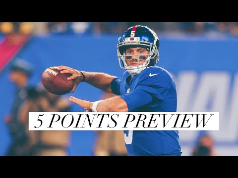5 Points Preview Of The New York Giants Vs Cleveland Browns Preseason Game 2 On August 21, 2017