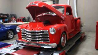 1949/2013 Chevy 3100 LS3 Dyno Results Revealed