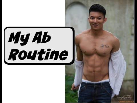 Asian ab routine | How to get abs