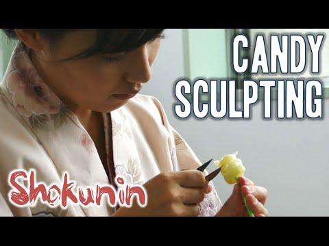 Shokunin | Japanese Candy Sculpting 職人シリーズ・飴細工 (日本)