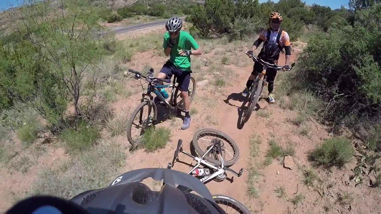 Mountain Biking Palo Duro Canyon Texas - Family Ride - YouTube