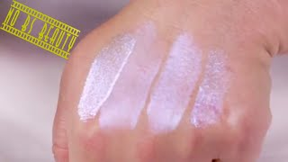 Nyx New Away We Glow Liquid Booster Swatches Review Comparison And Dupes Youtube