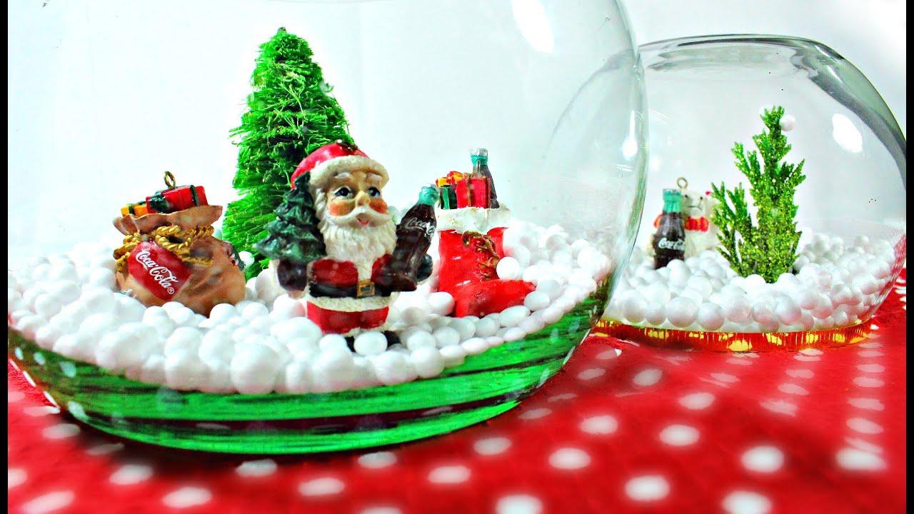 como hacer decoracion navidea esfera navidea mybluepas