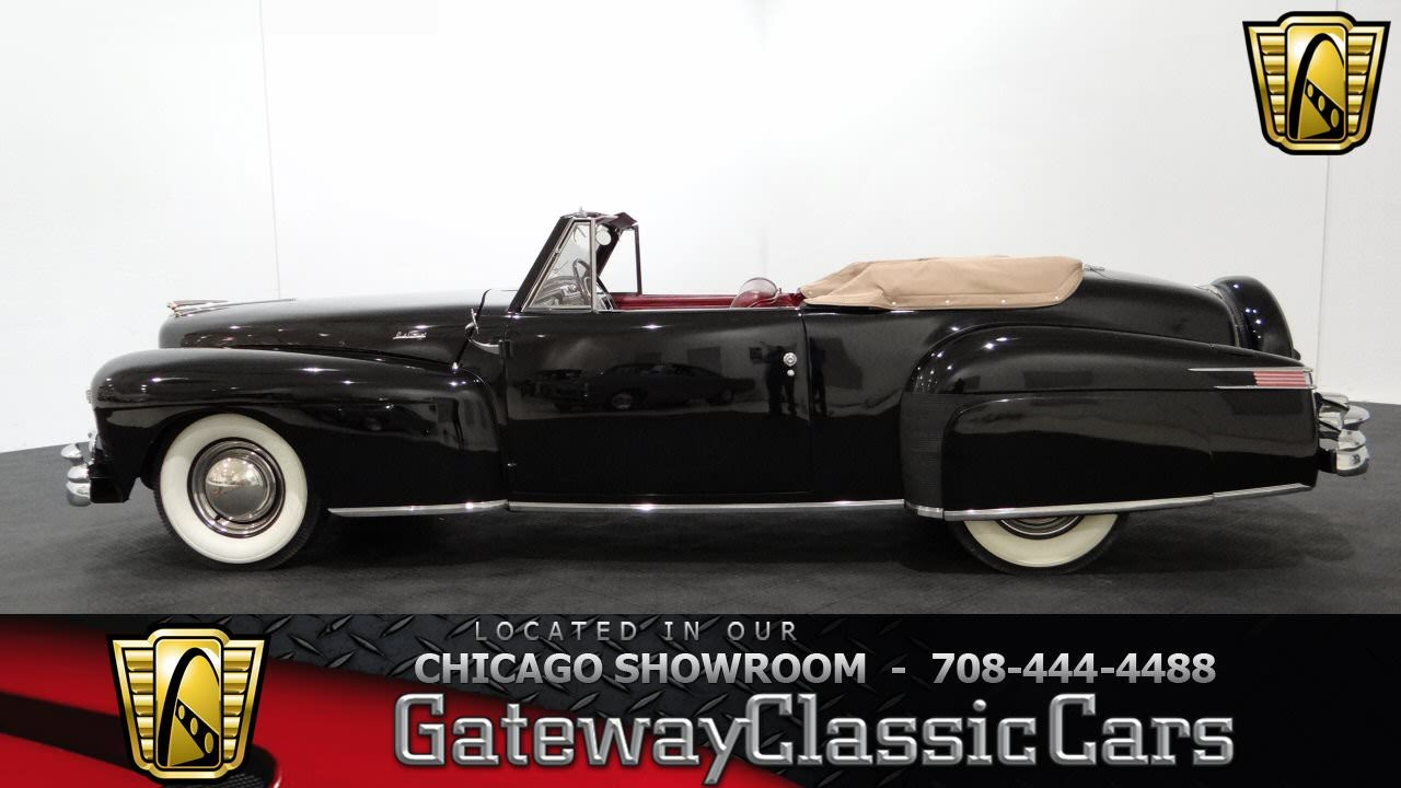 1948 Lincoln Continental Convertible Gateway Classic Cars Chicago ...
