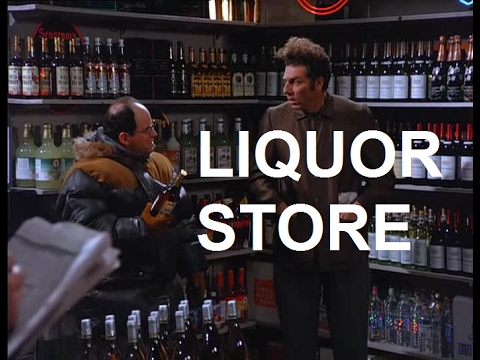 Seinfeld Dinner Party George And Kramer At The Liquor Store