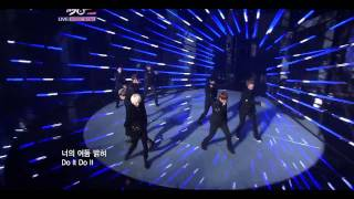 HD繁中字 110923 Super Junior A Cha Comeback Stage